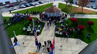 11-11-2017 Veteran's Day Program in Veterans Park downtown Frankfort, Indiana-photos