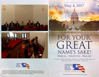 05-04-2017 National Day of Prayer Hosted by CCMA at Primera Iglesia Bautista, Frankfort, IN