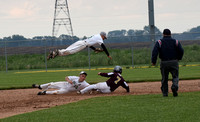 05-25-3027 IHSAA Baseball #54 Sectional at Fronteer HS -- Faith Christian vs Clinton Central